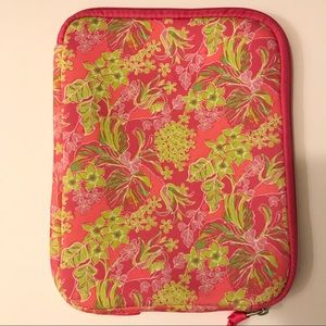 Lilly Pulitzer Pink & Green Floral Tablet Case